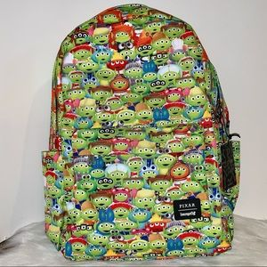 Pixar Toy Story Alien Outfits Nylon Backpack NWT